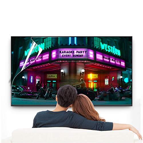 WLWLEO Protector de Pantalla de TV Anti luz Azul de 70 Pulgadas Filtro antideslumbrante Película antiarañazos Protección para los Ojos Bloqueo de luz Azul para Pantallas de 60 a 75',60' 1338×756mm
