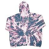 Giant Hoodies Bleach Tie-Dye Oversized Comfy Hoodie Sweatshirt,...