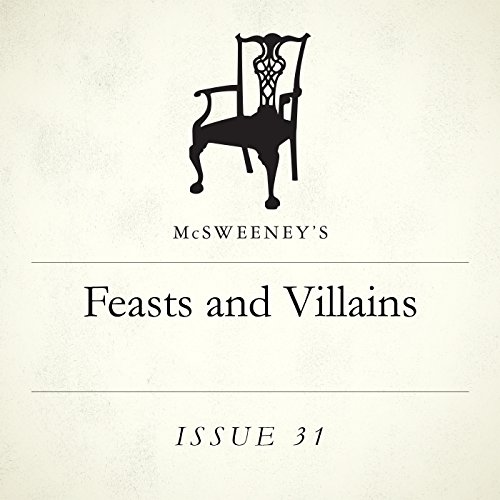 Feasts and Villains audiobook cover art