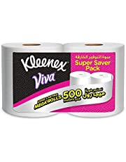 Kleenex VIVA MAXI, House Hold Tissue - Pack of 2 x 250 Meter Maxi Rolls