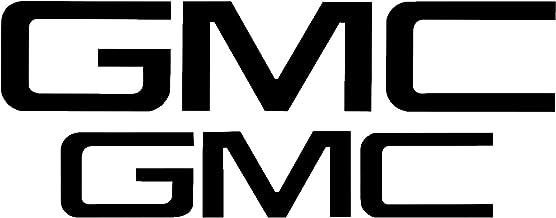 Compatible with GMC Sierra Emblem - Precut Emblem Overlay Decal Set (2019-2020 Sierra 1500, Matte Metallic Black)