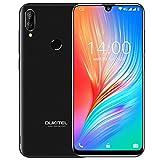 Smartphone Libre, OUKITEL C16 Pro Android 9.0 4G Dual SIM Telefonos Moviles, Pantalla de Gota de Agua de 5,71 Pulgadas Teléfono Movil,3300mAh Batería 32GB ROM Dual Cámaras Smartphone, Negro