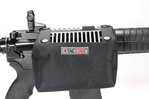 TacStar Industries 1081240 Brass Catcher with Picatinny Rail Mount, Black, 120 .223 Cases