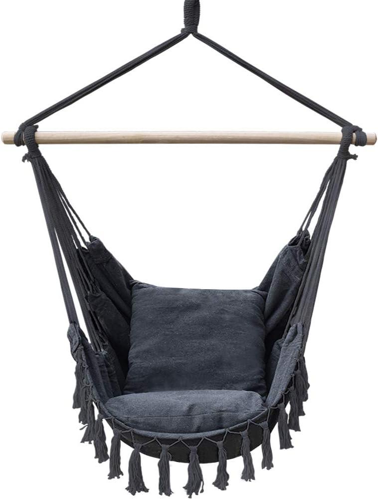 mart Lazy Daze Hammocks Hanging Chair Charlotte Mall Rope Weaving Cotton Swing
