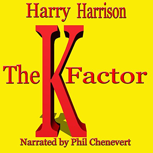 The K-Factor audiobook cover art