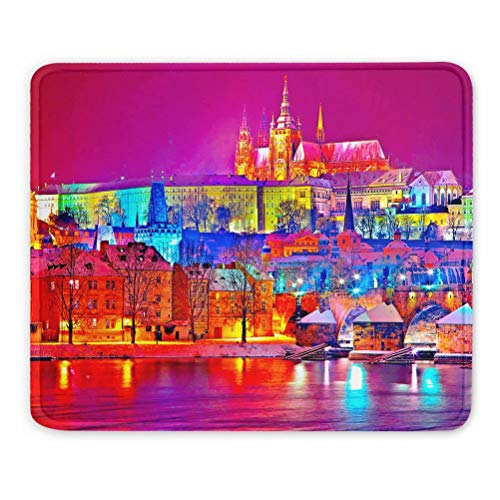 Praga Checa Praha Alfombrilla de ratón Regalo de Recuerdo 7
