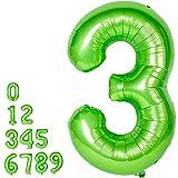 Grande Numero Palloncini Mylar Foil Gas Elio Balloons Festa Forniture Compleanno (3)