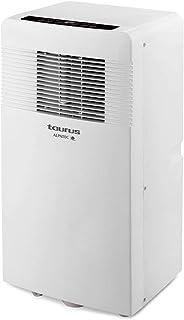 Taurus AC 3100 KT acondicionado portátil 3 en 1, con ruedas, 2250 fg, aire 320 m3/h, deshumidificador 31 L/24 h, habitaciones hasta 22 m2, kit ventana, blanco, Sin Calor