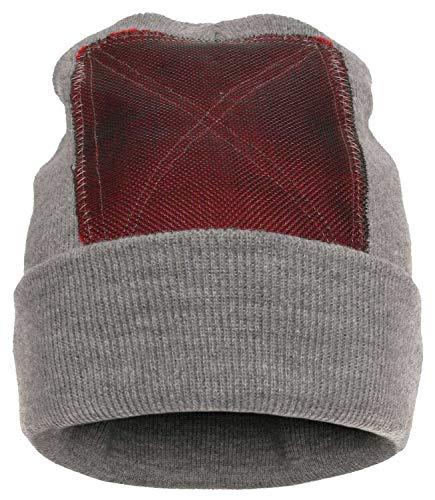 BACKSPIN Function Wear - Headspin Beanie Cap Farbe Grau meliert, Größe One Size