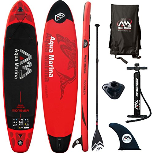 Aqua Marina SUP-Board Monster Rot 365 x 82 15 cm