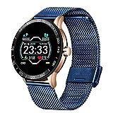 XXY Reloj Inteligente De Los Hombres 4G 3G + 32G Sistema De Doble Chip Dual Cámara Dobla Impermeable Deportes para Hombre Smart Watch Teléfono (Color : G)