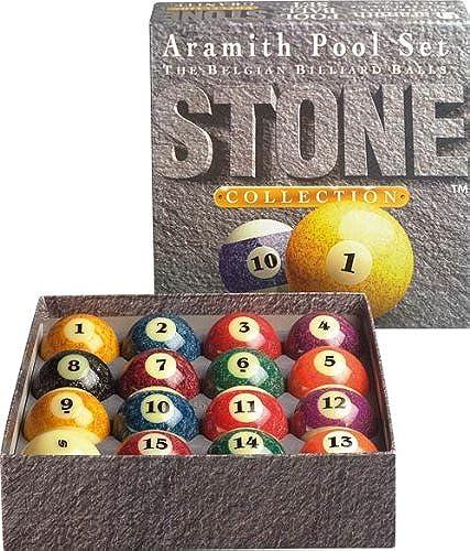 Aramith Stone Collection Pool- und Billardkugel-Set