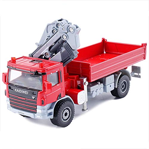 Gflyme Auto Modell 1:50 Hubwagen Simulation Legierung Druckguss Spielzeug Schmuck Engineering Car Collection Schmuck 14x5x5 cm (Color : Red)