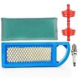 Lt1000 Air Filter Fuel Filter Spark Plug Tune Up Kit for Craftsman Lt1000 Intek 15-18.5 HP Parts Engine Lawn Mower