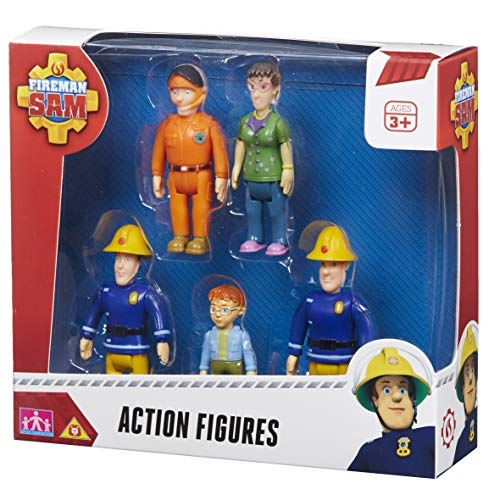 Character Options - Set di Figurine di Sam Il Pompiere