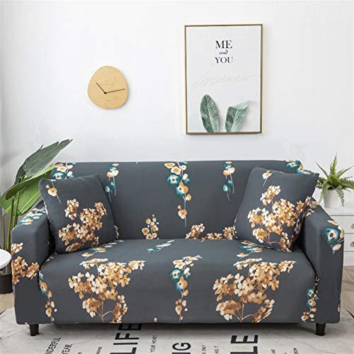 kengbi Einfach zu installierender und bequemer Sofa Sofa-Cover, Stretch-Plaid-Sofa-Cover elastische Sofa-Cover für Wohnzimmer Couch Chair Cover-Hülle für Sofa-Fundas Sofas Con Chaise-Longue 1pc