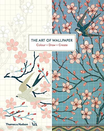 The Art of Wallpaper: Colour • Draw • Create (Colouring Books)