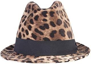 DOLCE E GABBANA Luxury Fashion Womens FH430AFSWBHHY13M Brown Hat | Fall Winter 19