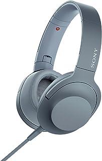 ソニー ヘッドホン h.ear on 2 MDR-H600A : ハイレゾ対応 密閉型 リモコン・マイク付き 2017年モデル 360 Reality Audio認定モデル ムーンリットブルー MDR-H600A L