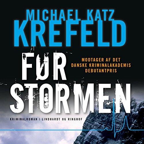 Før stormen audiobook cover art