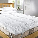 Feather & Down Mattress Topper (Hypoallergenic) Double
