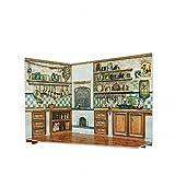 CLEVER PAPER- Puzzles 3D Cocina de casa de muñecas, Serie Rumboksy (142914)...