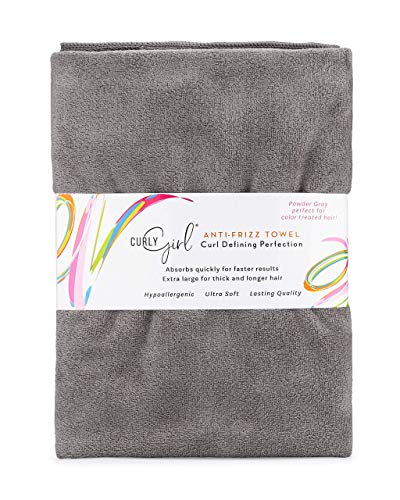 Curly Girl, Curly Hair Towel, Large Microfiber 22' x 39', Super...