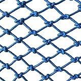 Rete di sicurezza Rete di protezione per bambini rete per parapetto, scala per balcone rete anti-caduta rete per arrampicata in nylon rete decorativa decorativa anti-corrosione resistente all'usura si