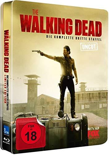 The Walking Dead - Staffel 3 (Uncut/Steelbook Limited Edition) [Blu-ray]