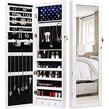 Best wall mount jewelry armoire Reviews