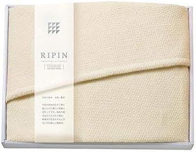 リピン 大判ひざ掛け OFW-050 ホワイト・6008211