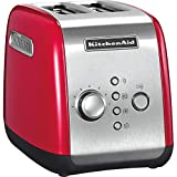 Kitchenaid 5KMT221EER - Tostadora, color rojo y plateado
