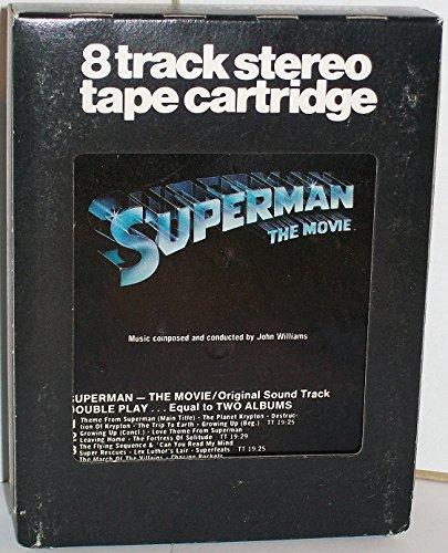 Superman The Movie - 8 TRACK TAPE - Original Sound Track - 1978
