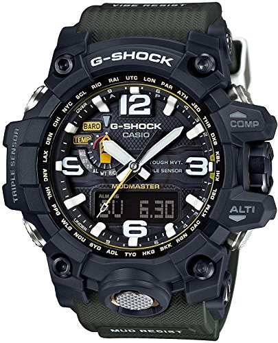 CASIO watch G-SHOCK Mad master world six stations corresponding Solar radio GWG-1000-1A3JF Men