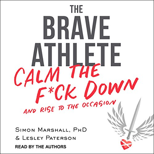 The Brave Athlete audiobook cover art