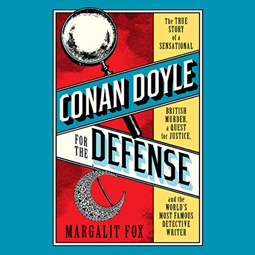 Conan Doyle for the Defense audiobook cover art