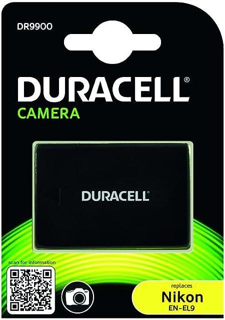 Duracell DR9900 - Batería para cámara digital 7.4 V 1100mAh (reemplaza batería original de Nikon EN-EL9)