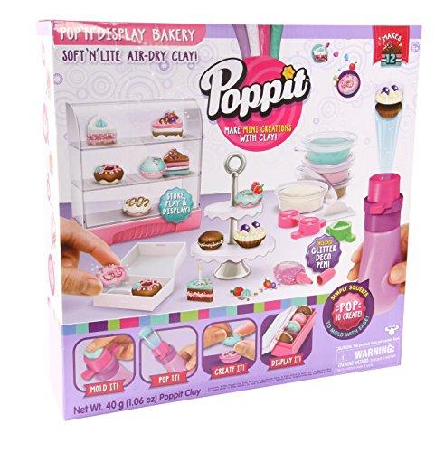 Moose Toys Shopkins Pop N Display Bakery Activity Pack