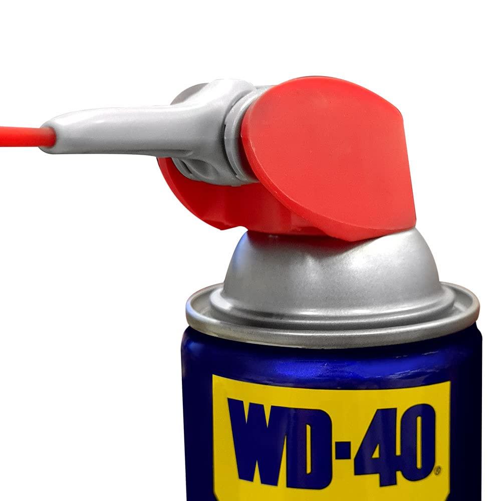 WD-40 Specialist Dirt & Dust Resistant Dry Lube PTFE Spray with SMART STRAW SPRAYS 2 WAYS, 10 OZ