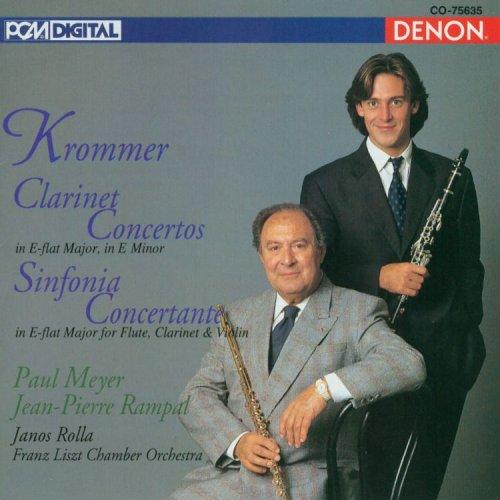 Krommer Klarinettenkonzerte, Sinfonia Concertante