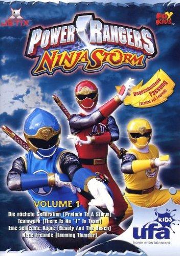 Power Rangers - Ninja Storm Vol. 1 (Episoden 01-04)