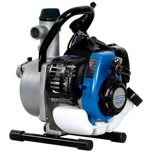 Sdmo CLEAR 1.7 - Bomba de agua de gasolina / 25mm de 1 pulgada de la superficie del agua limpia y 30 m de elevación con mitsubishi tle motor 20