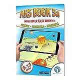 ARSchooInnovation Libro educativo Bambini 9-13 Anni – Imparare in Modo Super RAPIDO e Divertente - Libro in Realtà Aumentata di scienze, Geometria e Geografia - Libro interattivo – App Inclusa (5a)