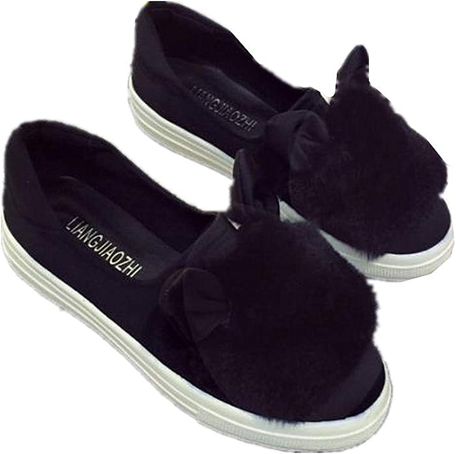 Cloudless Womens Shallow Slip On Loafer shoes Casual Walking shoes