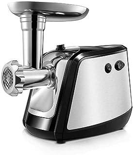 CJTMY Hachoir à viande électrique, saucisse Stuffer et hachoir en métal, facile à nettoyer multifonctions Accueil automati...