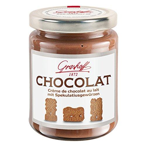 Grashoff CHOCOLAT Schoko-Creme mit Spekulatiusgewürzen 250 g