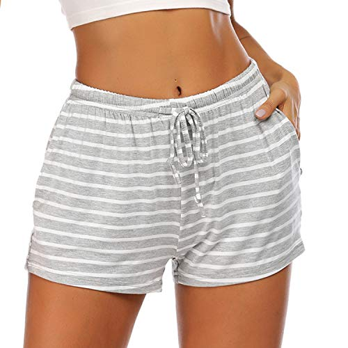 Ekouaer Women Pajama Shorts Comf...
