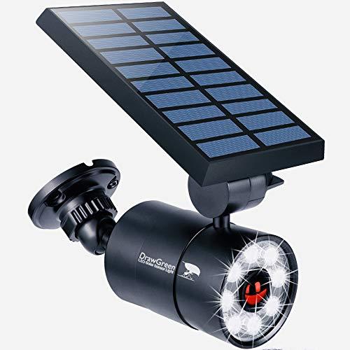 Solar Motion Sensor Light Outdoor Aluminum, 1400-Lumens 9W LED(130W Equi.), 2-Mode Spotlight, Solar Flood Security Lights for Driveway Patio Path Garden, 100-Week 100% Free Replacement