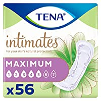 TENA Incontinence Pads for Women, Heavy, Regular, 56 Count by TENA