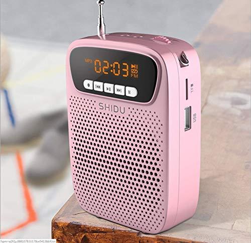 kkkxingyue amplificador de voz portatil micrófono(15 W) con recargable batería de litio...